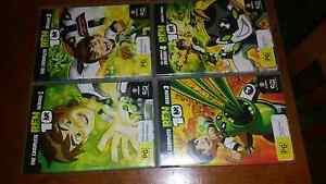 Ben10 Complete Series 1,2,3 & 4 DVDs Engadine Sutherland Area Preview