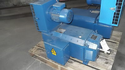 50 HP DC Bull Electric Motor, 1750 RPM, M2511ATZ Frame, DPFV, 500 V, New