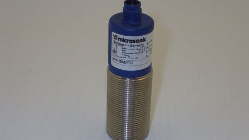 MICROSONIC MIC+25/D/TC S=30-250MM 9-30VDC 80MA 200MA ULTRASONIC SENSOR