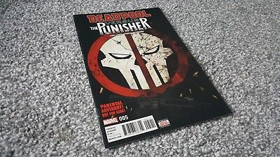 DEADPOOL vs THE PUNISHER #5 of 5 Cvr A (2017) MARVEL MINI-SERIES