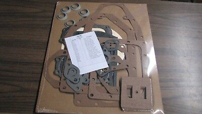 Complete Wisconsin Engine Gasket Set For Vh4d W4-1770 Vf4d Read Ad