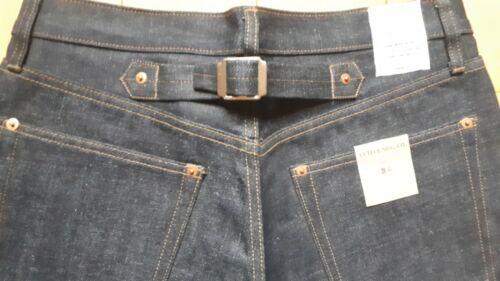 Jeans denim Lutece MFG CO Martingale Selvedge rockabilly us navy ww28 L32