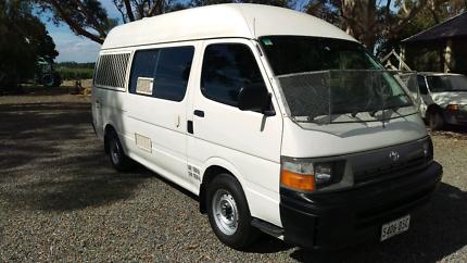 Toyota Hiace camper van Nuriootpa Barossa Area Preview