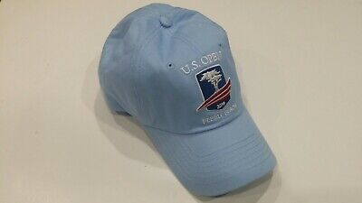 2019 US Open Pebble Beach Golf Hat/Cap. USGA Member Insignia Light Blue.