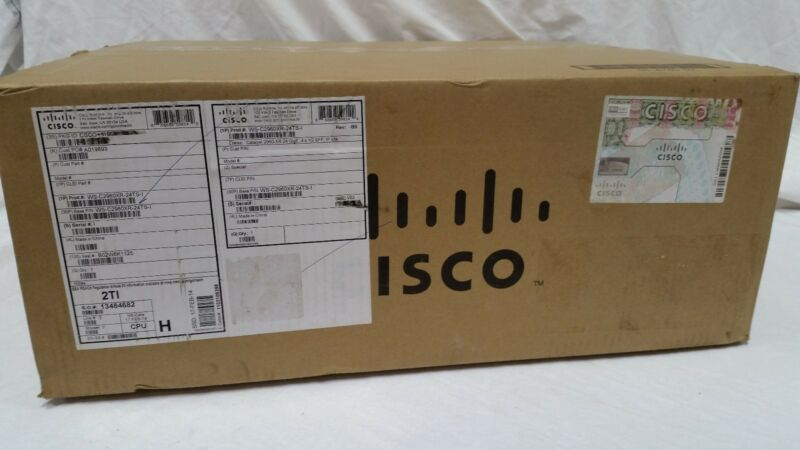*new In Box* Cisco Ws-c2960xr-24ts-i Catalyst Switch *fast Shipment *