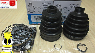 Inner  Outer CV Axle Boot Kit for Chrysler Town  Country 2000 2004 All Models