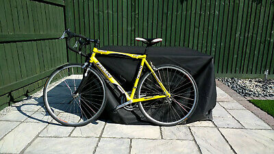 mens road bike, yellow and black. Prorace