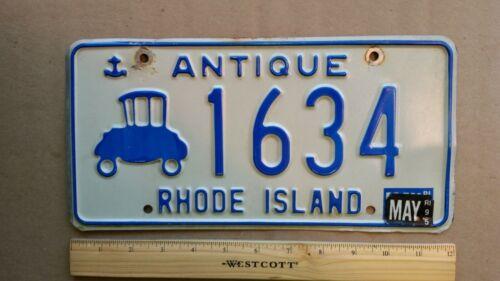 License Plate, Rhode Island, 1995, Antique (Car) 1634