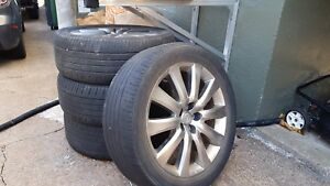 20 inch aluminum rims from Mazda CX-9