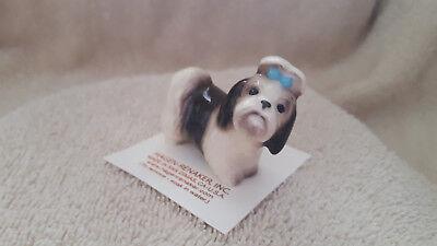 Hagen Renaker Dog Shih Tzu Figurine Miniature Collect New Free Shipping 02076