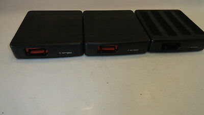 Lot Of 3 Motorola Mcs2000 Mobile Ii Flashport Radio M01ugm6pw6bn M01hx822w