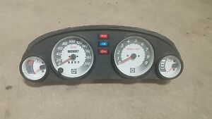 Skidoo ZX Chassis Gauges and Panel