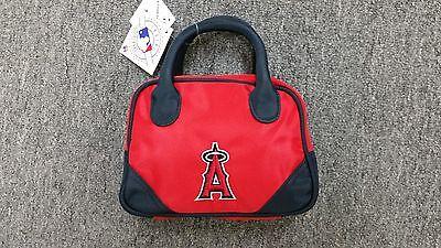 Los Angeles Angels Purse Mini Bowler Style Charm 14 Handbag Gift MLB LA - La Angels Charm