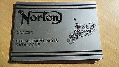 RO12A - Norton Classic Replacement Parts Catalogue For 1988 Number 00-4237