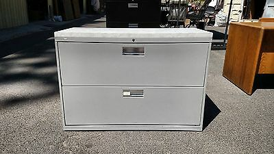 File Cabinet 2 Drawer Lateral 42w Light Gray Wlock Honwe Deliver Locallynorca