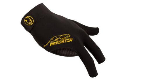 New Predator Second Skin YELLOW Logo - S/M One size - RIGHT Hand Pool Glove