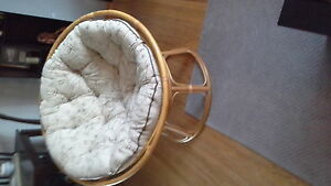 Basket Chair Sarnia Sarnia Area image 1