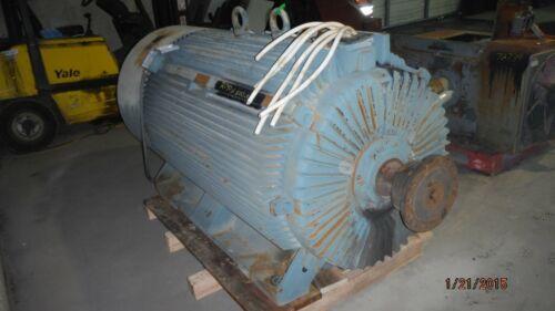 1750 HP ABB AC Electric Motor, 1800 RPM, FR. HXR500LR4, TEFC, 4160 V, EOK