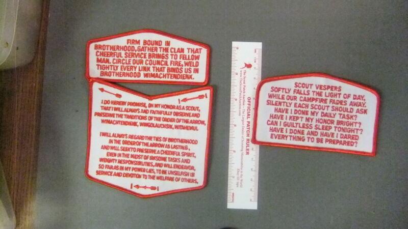 Boy Scout Order of the Arrow Obligation Vespers 3 Piece Set 5752II