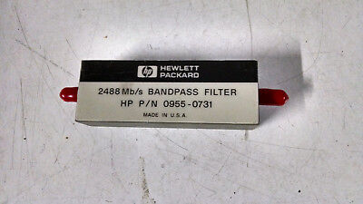 Hp 2488 Mbs Bandpass Filter Pn 0955-0731 Used