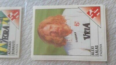 1 figurina/sticker CALCIATORI PANINI 1995-96_ALEXI LALAS_calcio PADOVA_N.198