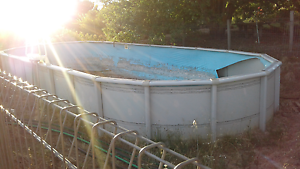 Large above ground swimming pool Newham Macedon Ranges Preview