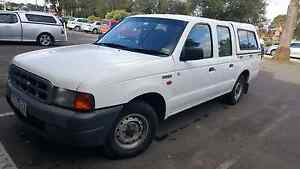 Dual fuel Ute Ford courier for sale. With free canopy Craigieburn Hume Area Preview