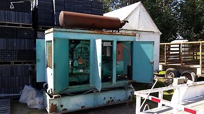 70 Kw Onan 3 Phase Diesel Generator For Parts