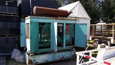 70 Kw Onan 3 Phase Diesel Generator For Parts