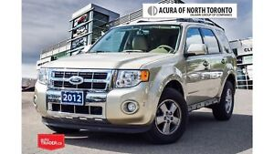 2012 Ford Escape Limited V6 4WD ONE Owner| Accident Free| Blueto