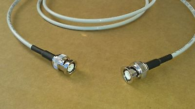 Rg58 Plenum -  US MADE BELDEN RG-58 PLENUM   BNC Male  to BNC Male   50 ohm  coax cable 6 FT