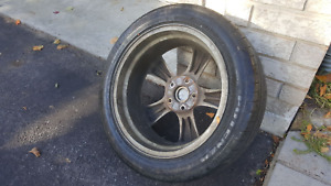 Mazda 4 tiers and rims