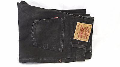 Baumwolle Relaxed Fit Jeans (Levis Jeans 550 Relaxed Fit Herren Baumwolle W30 L30 Schwarz Alle Jahreszeiten )