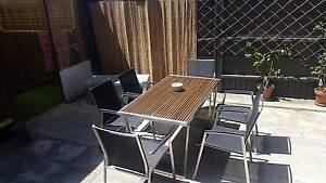 Immaculate designers outdoor dining set Glebe Inner Sydney Preview