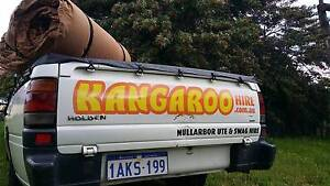Kangaroo Hire - Nullarbor Ute and Swag Hire - Perth Adelaide Perth Perth City Area Preview