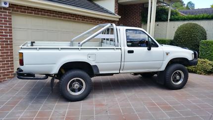 Toyota Hilux 1992 Single Cab Ute