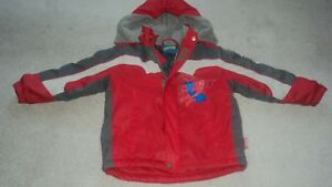 Boys Spider-Man winter jacket. Size 5