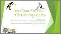 Cleaner The Cleaning Ladies Let is CLEAN for YOU