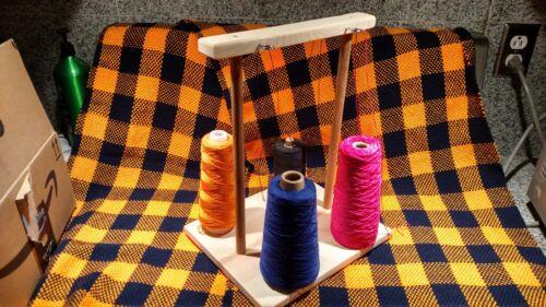Weaving Yarn 4 Cone Holder Guide Bobbin Loom Warping Boat Shuttle Accessories