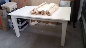 White timber table - free - pick up today! Mosman Mosman Area Preview