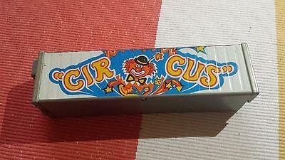 Blechspielzeug LKW Anhänger Aufsatz Circus Clown