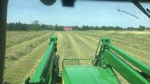 First cut/second cut hay small squares
