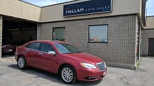 2013 Chrysler 200 Limited Black Leather Int., Sunroof,