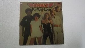 CHILLY-FOR-YOUR-LOVE-RARE-LP-record-INDIA-INDIAN-21-VG