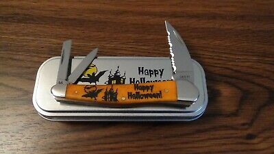 2020 Case Halloween 6355WH SS Seahorse Whittler Knife in Tin