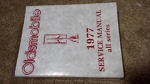 1977 GM Oldsmobile Chassis Service Manual