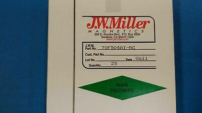 10 Pcs 70f504ai-rc Jw Miller Rf Fixed Inductors 500uh 5