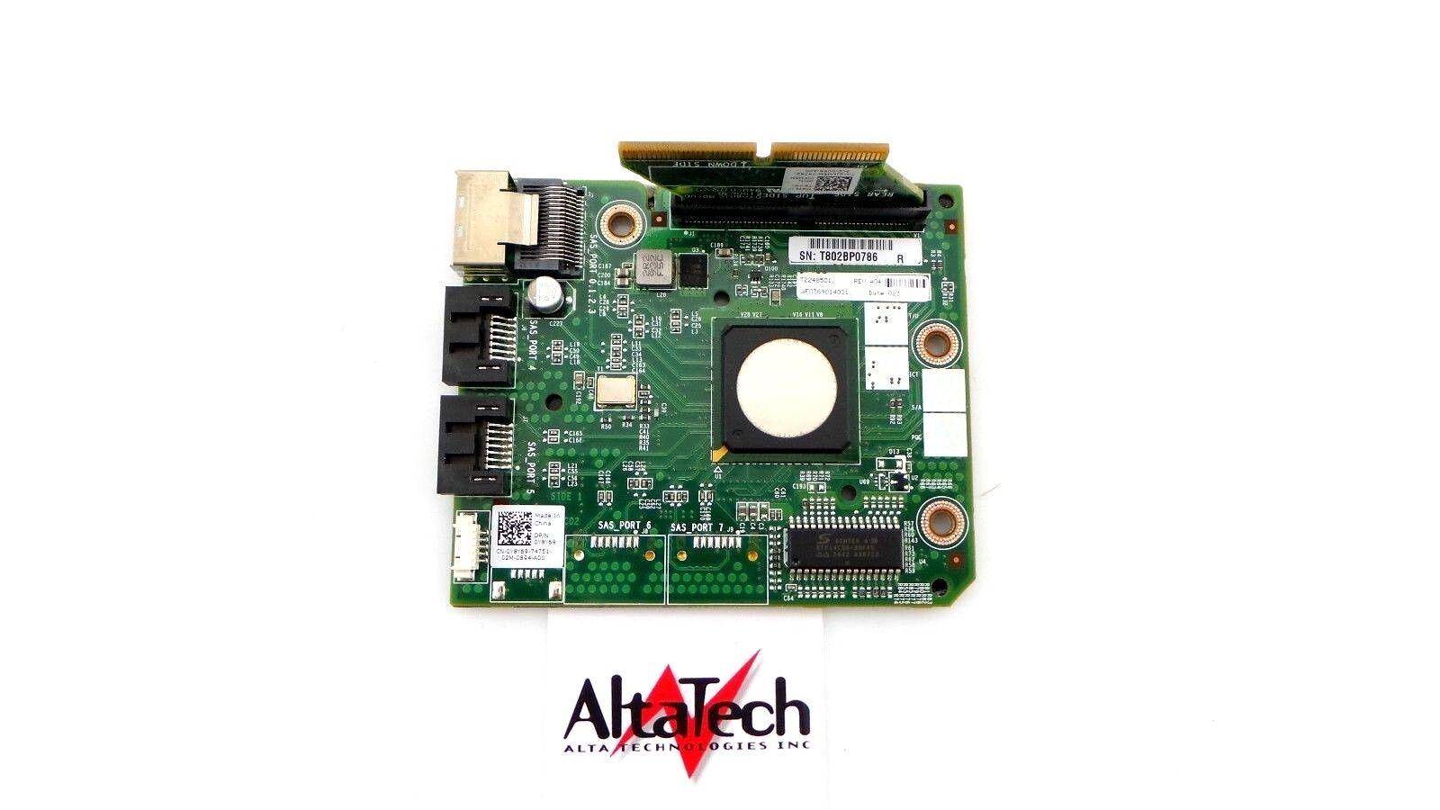 XX2X2 DELL LSI SAS 2008 MEZZANINE 6GBPS CONTROLLER FOR POWEREDGE C6100 C6220 QTY