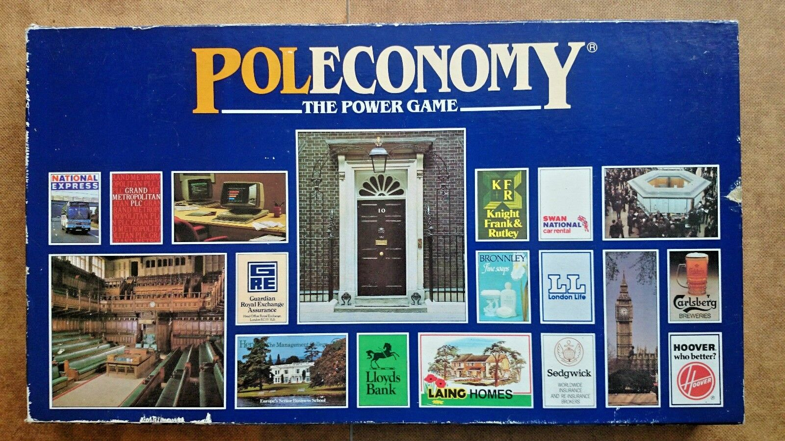 Poleconomy The Power Game By Woodrush Games 1987
