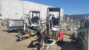 Mini Excavator Hire Cheap rates Landsdale Wanneroo Area Preview